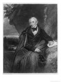 Portrait of William Wordsworth Giclee Print by Frederick Richard Pickersgill