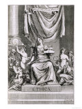 "Ethics, Frontispiece to Book 1 Part 10 of ""The Principles of Philosophy"" Giclee Print by G Freman"