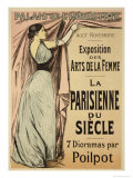 "Reproduction of a Poster Advertising ""La Parisienne Du Siecle"" Giclee Print by Jean Louis Forain"