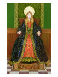 The Child Enthroned, circa 1894 Giclee Print by Thomas Cooper Gotch