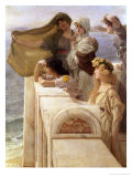 At Aphrodite's Cradle Giclee Print by Sir Lawrence Alma-Tadema