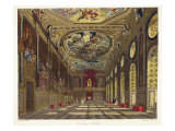 St. George's Hall, Windsor Castle Giclee Print by Charles Wild
