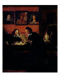 Two Men in a Studio Giclee Print by Heimbach Wolfgang