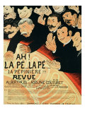 Reproduction of a Poster Advertising &quot;Chauffons, Chauffons,&quot; a Pepiniere Concert, 1898 Giclee Print by Jules-Alexandre Gr&#252;n