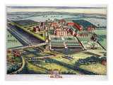 Staunton Harold in the County of Leicester Giclee Print by Leonard Knyff