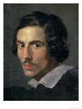 Self Portrait of the Artist in Middle Age Giclee Print by Giovanni Lorenzo Bernini