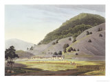 Jugeanor, in the Mountains of Sirinagur Giclee Print by Thomas & William Daniell