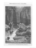 "Illustration from ""20,000 Leagues under the Sea"" Giclee Print by Alphonse Marie de Neuville"
