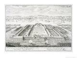 """Golden Palace of the Emperor Nero, Rome, from """"Entwurf Einer Historischen Architektur,"""" 1721 Giclee Print by Johann Bernhard Fischer Von Erlach"""