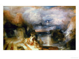 The Parting of Hero and Leander Giclee Print by William Turner