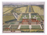 Wrest House in Bedfordshire Giclee Print by Leonard Knyff