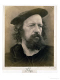 Portrait of Alfred, Lord Tennyson Giclee Print by Julia Margaret Cameron
