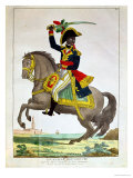 Portrait of Toussaint Louverture on Horseback, Early 19th Century Giclee Print