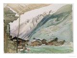 Zermatt Giclee Print by John Ruskin