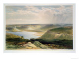 "Head of the Harbour, Sebastopol, Plate from ""The Seat of War in the East"" Giclee Print by William Simpson"