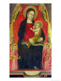Madonna and Child Giclee Print by Giuliano Di Simone Da Lucca