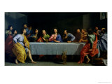 "The Last Supper, Called ""The Little Last Supper"" Giclee Print by Philippe De Champaigne"