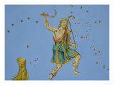 "Constellation of Bootes from ""Uranometria"" Giclee Print by Johann Bayer"