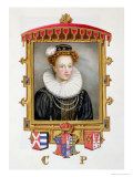 Portrait of Catherine Parr Sixth Wife of Henry VIII as a Young Widow Giclee Print by Sarah Countess Of Essex
