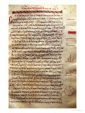 Page of Text with Geometrical Figures, from &quot;Geometry&quot; by Euclid Giclee Print