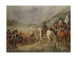 "Battle of ""Chacabuco"" in 1817 Giclee Print by Pedro Subercasseux"