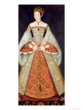Portrait of Catherine Parr Giclee Print by Hans Holbein the Younger