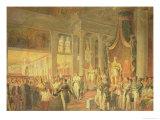 Coronation of Dom Pedro II Giclee Print by Araujo Porto Alegre