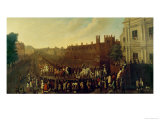 The Restoration of Charles II at Whitehall on 29 May 1660, circa 1660 Giclee Print by Isaac Fuller