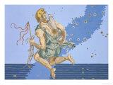 "Auriga, the Constellation of the Northern Hemisphere, from ""Uranometria"" Giclee Print by Johann Bayer"