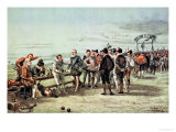 "The Armada of 1888 in Sight, Ministers at Play, from ""St. Stephen"" Giclee Print by Tom Merry"