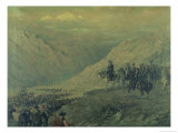 The Passage of the Andes in 1817 Giclee Print by Augusto Ballerini