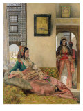 Life in the Harem, Cairo Giclee Print by John Frederick Lewis