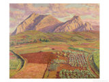 Landscape Giclee Print by Diario Or Dario De Regoyos Y Valdes