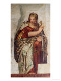 Justice, from the Walls of the Sacristy Giclée-tryk af Paolo Veronese