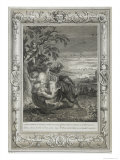Tithonus, Aurora's Husband, Turned into a Grasshopper, 1731 Giclee Print by Bernard Picart