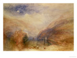 Lake of Brienz Giclee Print by William Turner