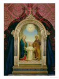 Holy Family, 1898 Premium Giclee Print by Alessandro Franchi