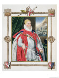 Portrait of Charles Howard 2nd Baron of Effingham and 1st Earl of Nottingham Giclee Print by Sarah Countess Of Essex