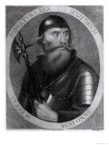 Portrait of King Robert I of Scotland (Robert the Bruce), Giclee Print