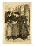 """Original Drawing for """"Les Maitres De L'Affiche"""" Giclee Print by Théophile Alexandre Steinlen"""