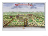 "Her Majesty's Royal Palace at Kensington, from ""Survey of London"" Giclee Print by Leonard Knyff"
