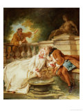 The Alarm, 1723 Giclee Print by Jean Francois de Troy