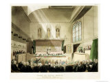 Court of King's Bench, Westminster Hall Giclee Print by T. & Pugin Rowlandson