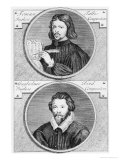 Thomas Tallis and William Byrd by G. Vander Gucht, 18th Century Giclee Print by Niccolo Francesco Haym