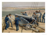 "Sebastopol from the Sea, Plate from ""The Seat of War in the East"" Giclee Print by William Simpson"
