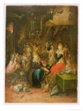 An Incantation Scene, 1606 Giclee Print by Frans Francken the Younger