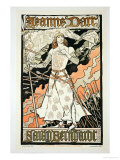 "Reproduction of a Poster Advertising ""Joan of Arc"" Giclee Print by Eugene Grasset"