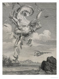 The Fall of Icarus, 1731 Giclee Print by Bernard Picart