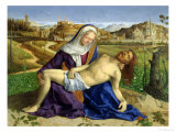 The Pieta, circa 1505 Giclee Print by Giovanni Bellini