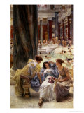 The Baths of Caracalla Premium Giclee Print by Sir Lawrence Alma-Tadema
